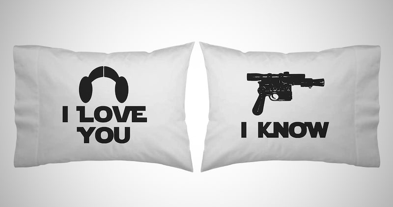 Star Wars Couple Pillow Case