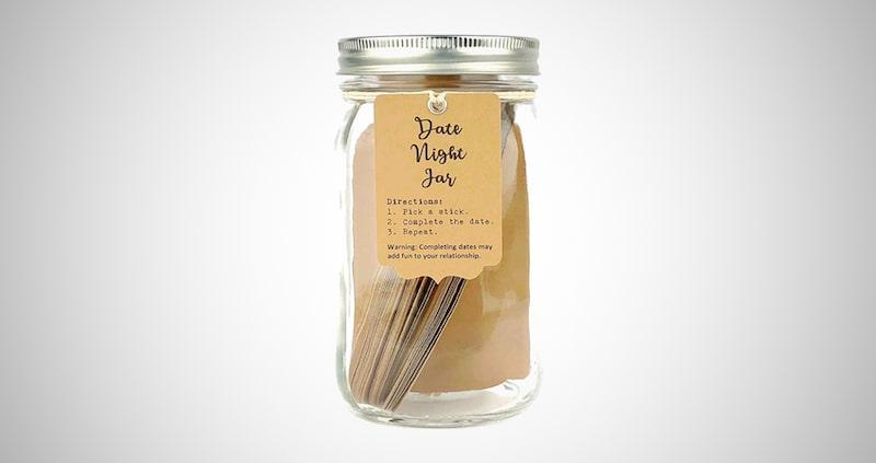 52 Romantic Date Night Ideas Jar