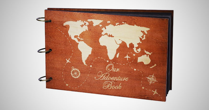 Our Adventure Wooden Book