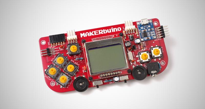MAKERbuino DIY Retro Game Console