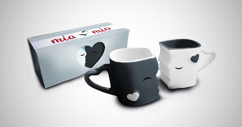 Mia ♥ Mio Kissing Mugs