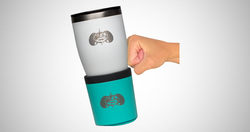 Toadfish Non-tipping Cup Holder