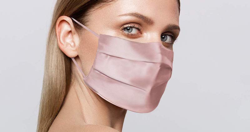 Slip Silk Double-Sided Face Covering