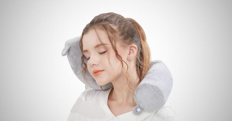 Lucear Twist Travel Pillow