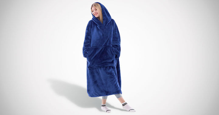 Wearable Blanket Sweatshirt