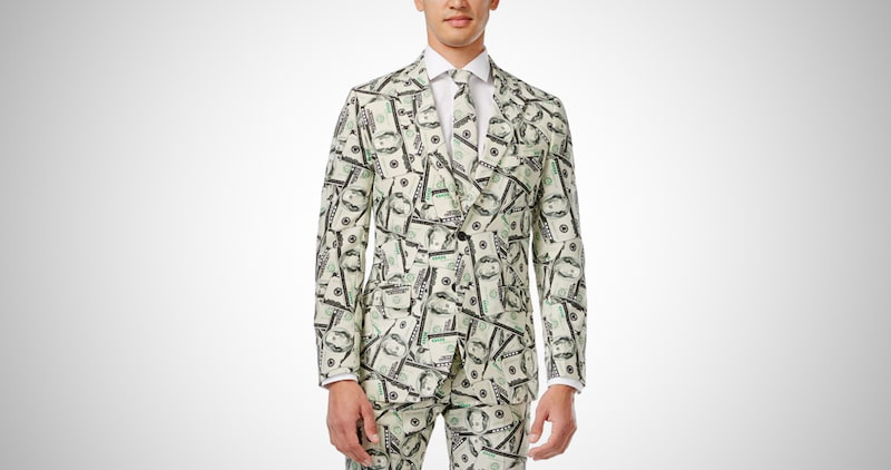 Men's Cashanova Party Costume Suit