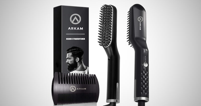 Arkam Premium Beard Straightener
