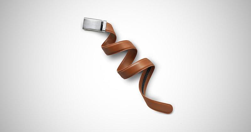 Mission Belt Men's Leather Ratchet Belt