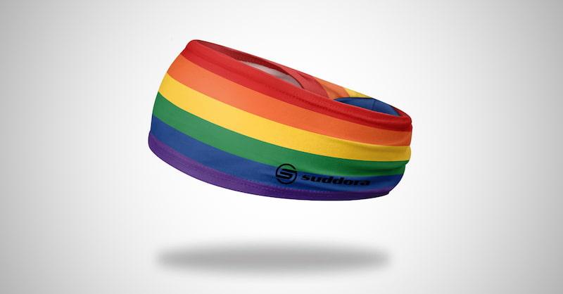 Suddora Wide Rainbow Headband