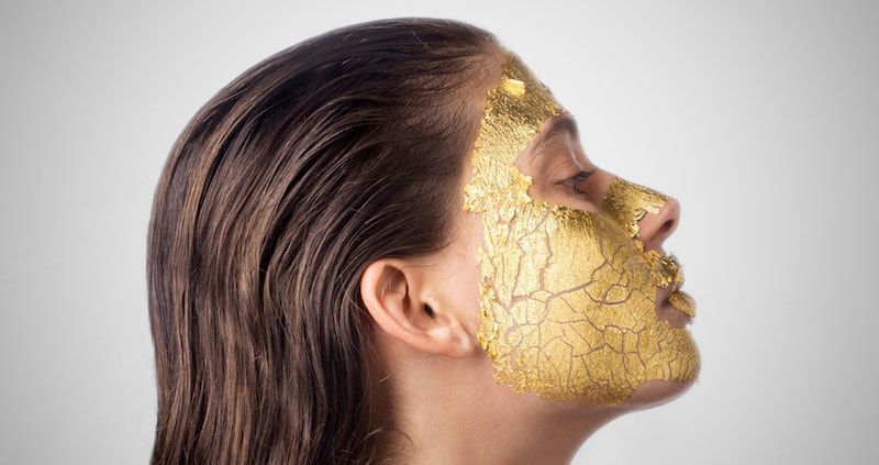 Majestic Pure Gold Facial Mask