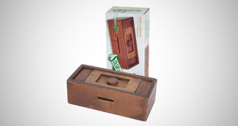 Stash Your Cash - Secret Puzzle Box