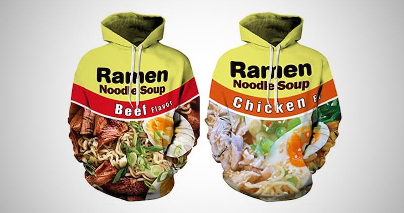 Ramen Noodle Soup 3D Pullover Hoodies