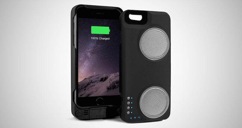 PERI Duo iPhone Speaker Case