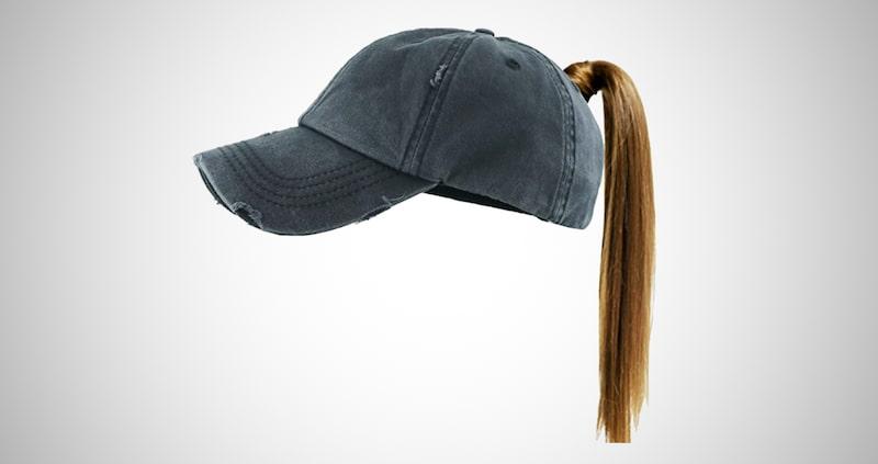 Ponytail Sports Hat