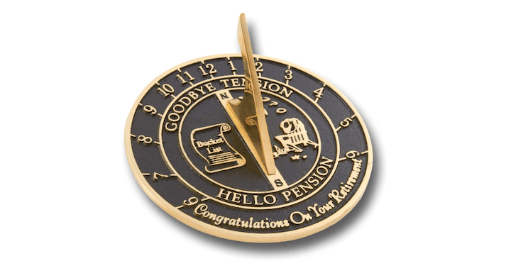The Metal Foundry Personalized Sundial