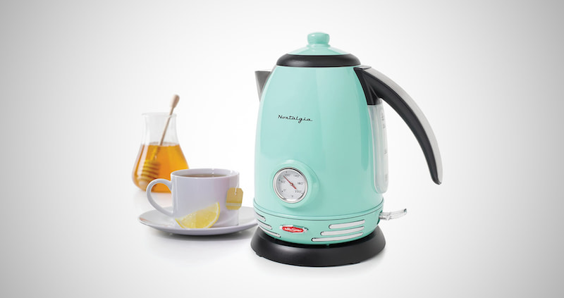 Nostalgia Retro Electric Water Kettle