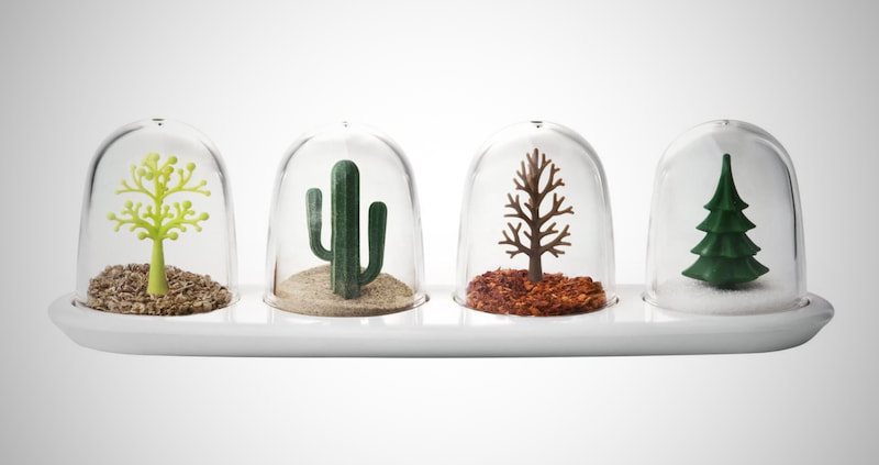 Qualy Four Seasons Spice Shakers