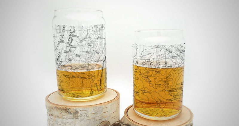Rocky Mountain National Park Can Glass Set
