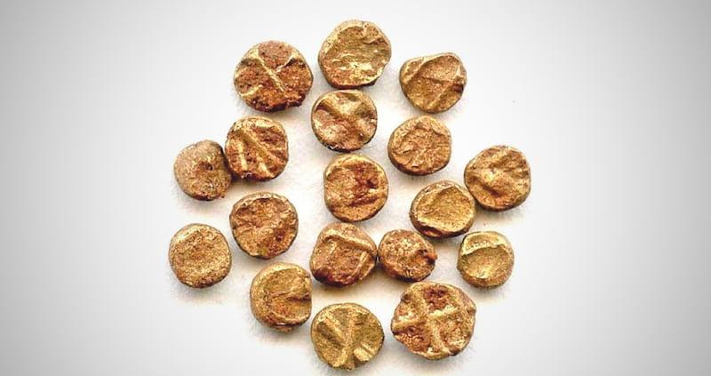 World's Smallest Gold Coin of Vijayanagar Empire