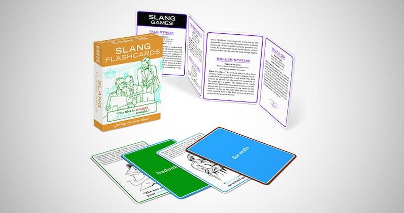 Knock Knock Slang Flashcards
