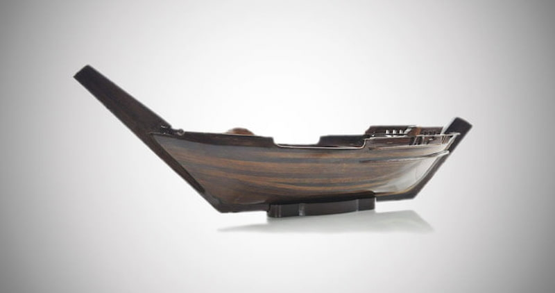 Handicrafts Dhow Boat Sushi Tray