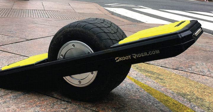SkootRider Yellow on Black