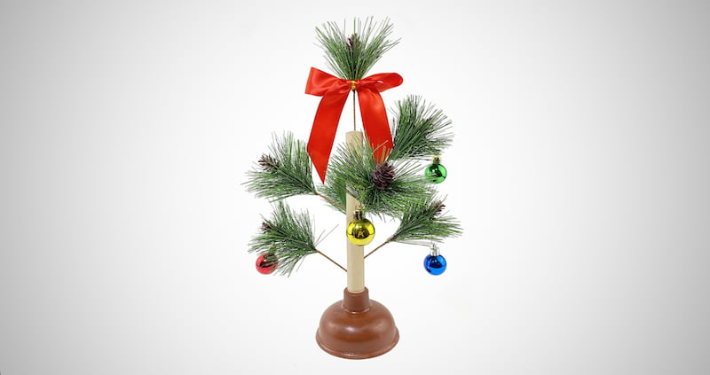 Hilarious Christmas Tree Plunger