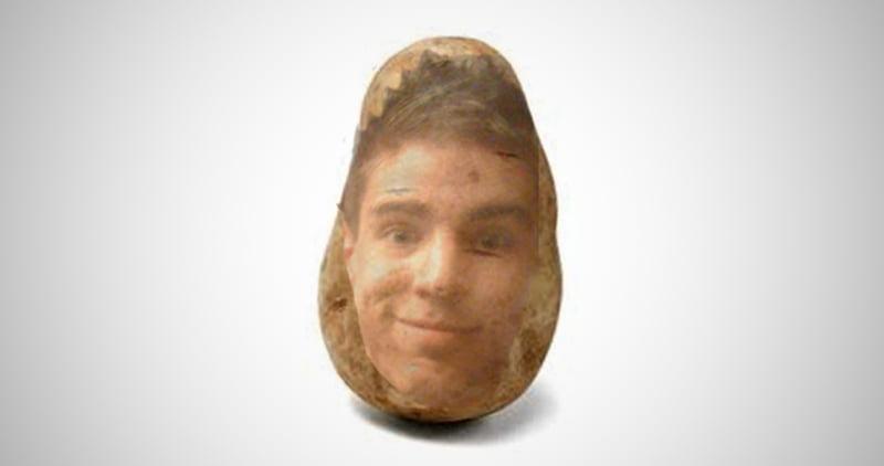 Potato Pal - Your FACE on a real potato