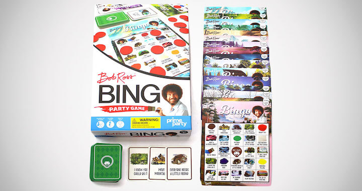 Bob Ross Bingo Game