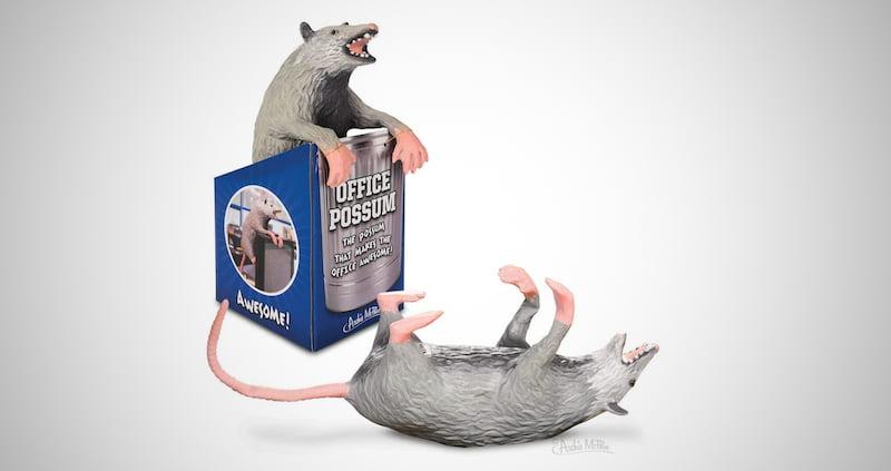 Archie McPhee Office Possum