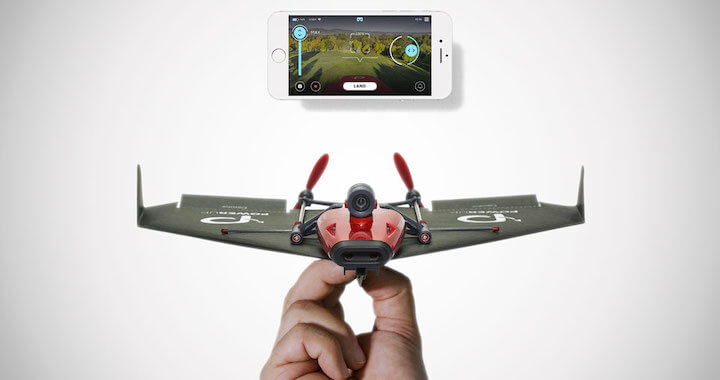 POWERUP 3.0 Smartphone Controlled Paper Airplanes