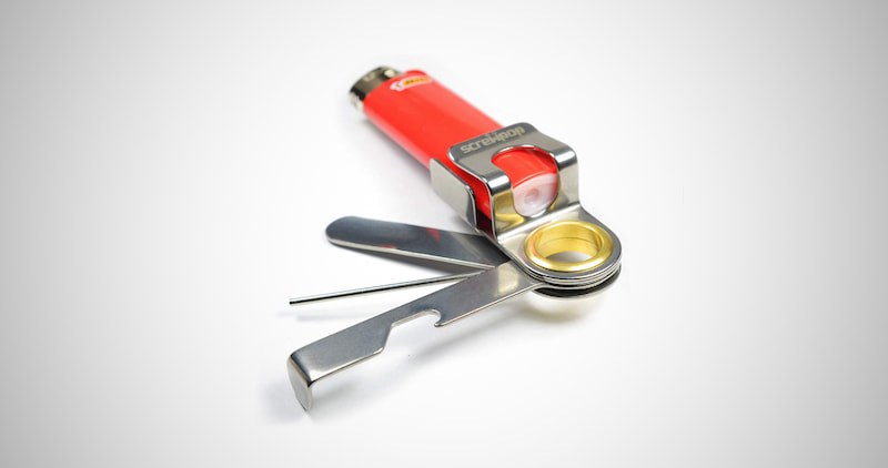 Screwpop Lighter Holder Multi Tool
