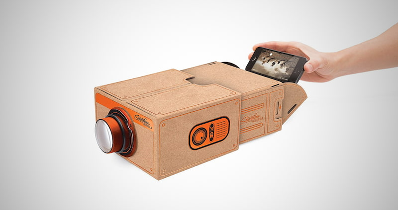 Portable Phone Projector