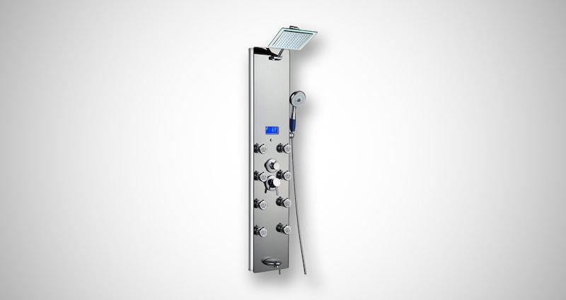 AKDY Tempered Glass Shower Panel