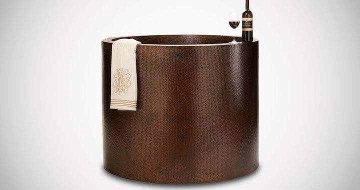 Premier Copper Japanese Style Bath Tub