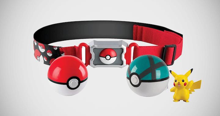 Pokémon Clip and Poké Ball Belt