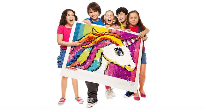 Unicorn Mosaic Puzzle Poster Kits