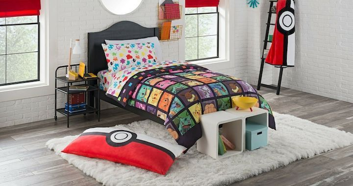 Pokémon Twin Bed Set