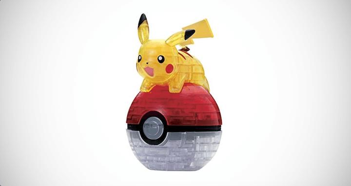 3D Pokemon Pikachu & Monster Ball