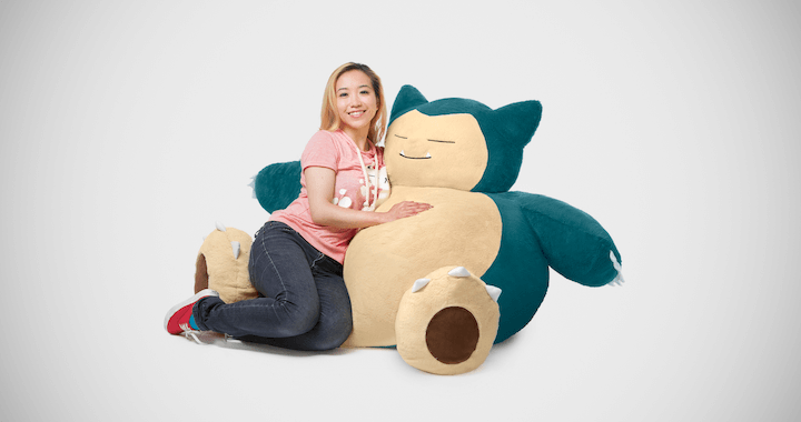 Pokemon Giant Snorlax Stuffed Plush