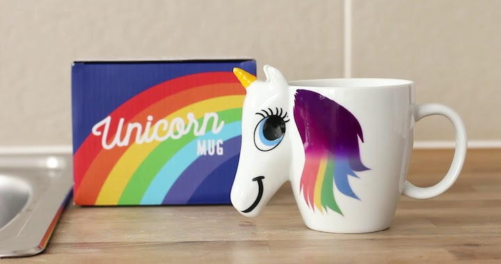 Unicorn Color Changing Coffee Mug
