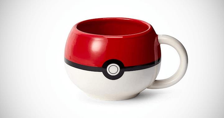 Official Pokeball Molded Mug