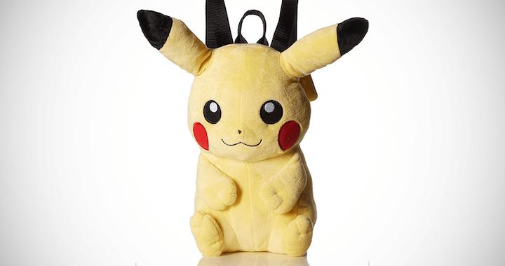Pokemon Boys' Pikachu Backpack