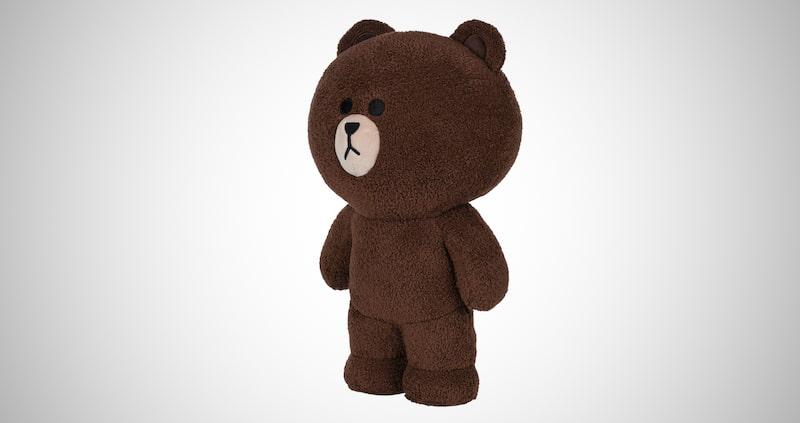 Standing Plush Stuffed Animal Bear