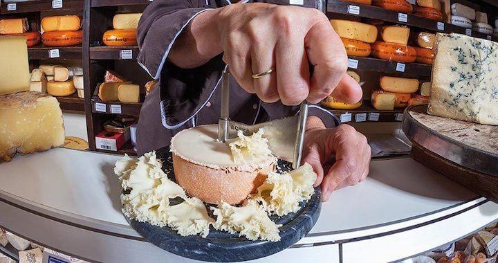Swissmar Girouette for Cheese & Chocolate Curler