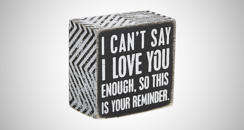 Love Sign Box