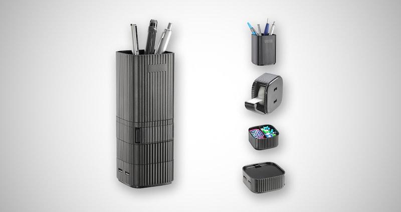 Desktop Tower Organizer