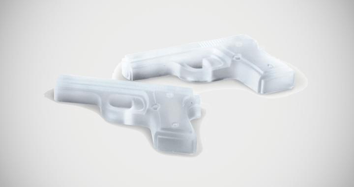 Handgun Ice Tray