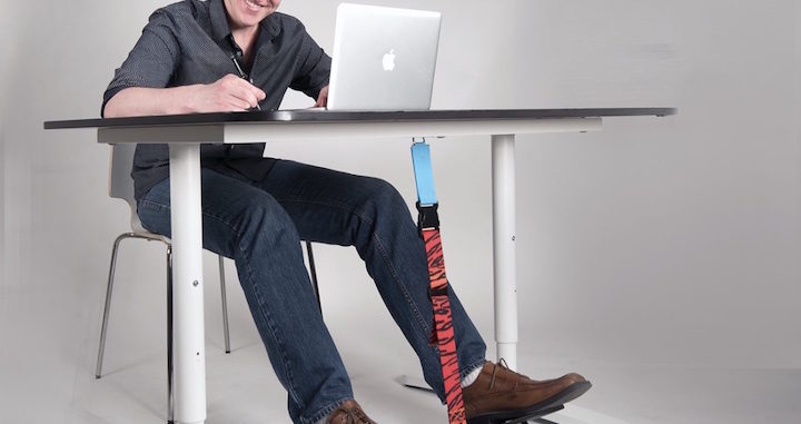 SitFlow Under Desk Leg Swing