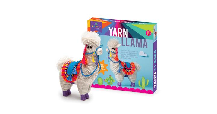 Craft-tastic Yarn Llama Kit